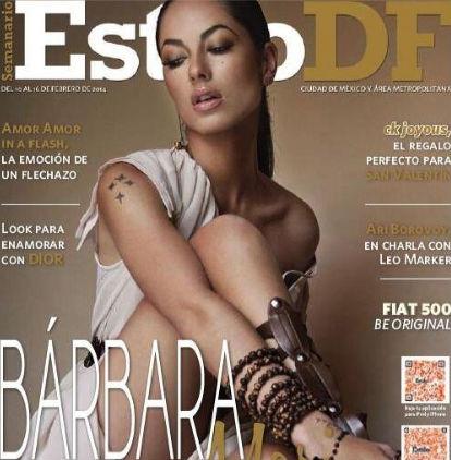 Bárbara Mori en revista Estilo DF