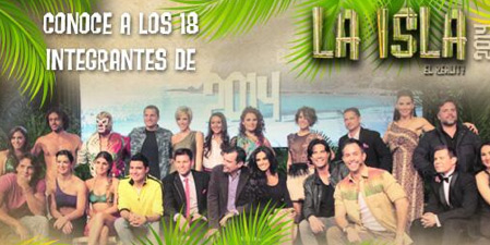 Estreno de La Isla 2014 el 14 de julio