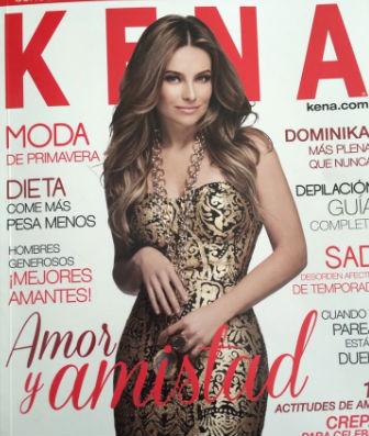 Dominika Paleta en revista Kena