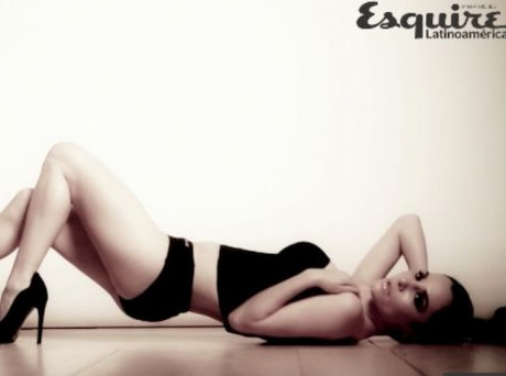 Martha Higareda en revista Esquire