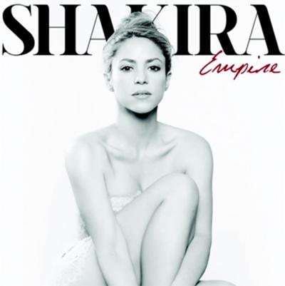 Portada Empire de Shakira