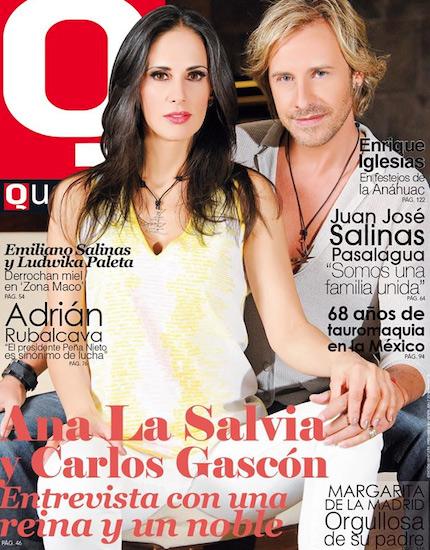 Ana la Salvia en Revista Q Que… México