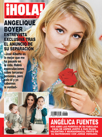 Angelique Boyer en Revista HOLA