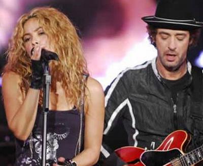 Shakira envía carta a la madre de Gustavo Cerati
