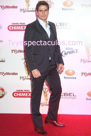 Daniel Arena es Premios Tvynovelas