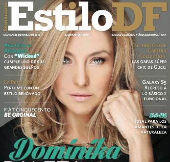 Dominika Paleta en Revista Estilo DF