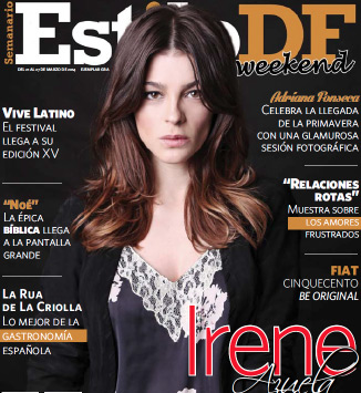 Irene Azuela en revista Estilo DF