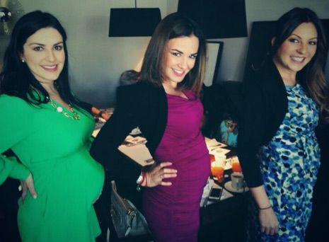 Lidia Avila Mariana Ochoa y La Josa embarazadas