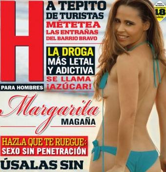 Margarita Magaña en Revista H