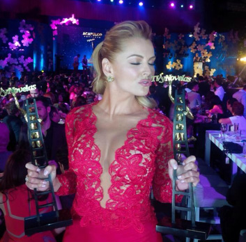 Marjorie de Sousa en Premios Tvynovelas