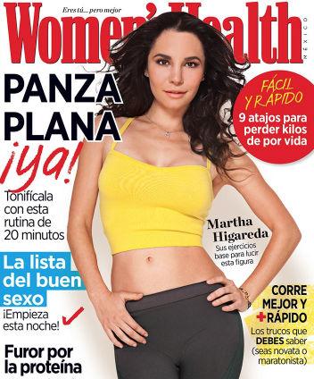 Martha Higareda en portada Womens Health