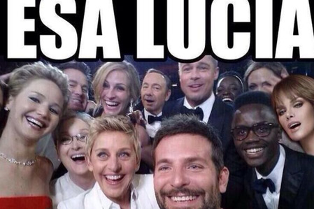 Memes de Lucía Méndez en el Oscar