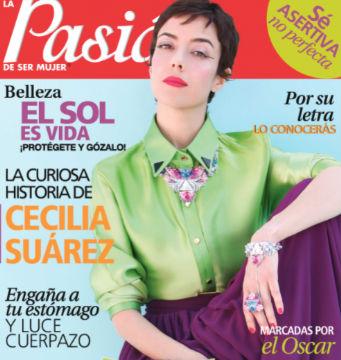 Cecilia Suárez en revista Pasion