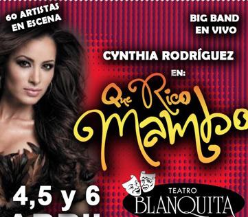 Qué Rico Mambo estrena el 4 de abril en el Teatro Blanquita
