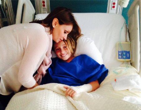 Angélica Rivera y su hija Regina