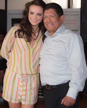 Silvia Navarro y Juan Osorio