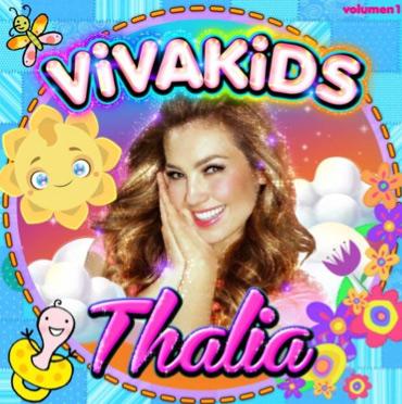 Viva Kids disco infantil de Thalía