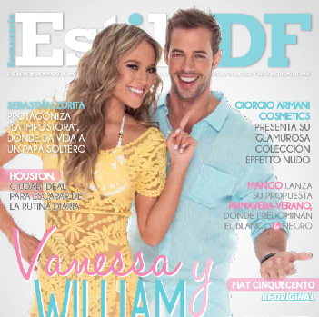 William Levy y Vanessa Huppenkothen en Estilo DF