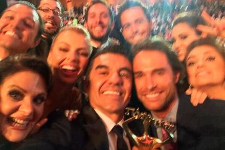 Selfie Premios Tv y Novelas