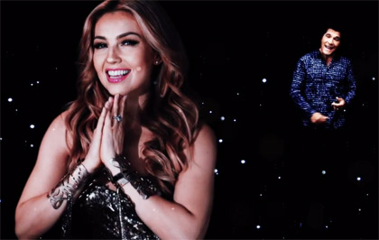 Thalía en video Estou apaixonado