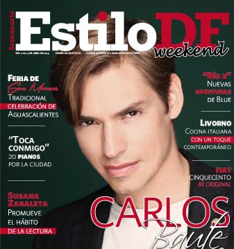 Carlos Baute en revista Estilo DF