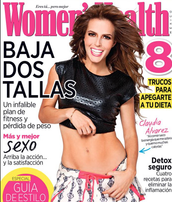 Claudia Alvarez en Women´s Health