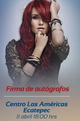 Dulce María Firma de autógrafos