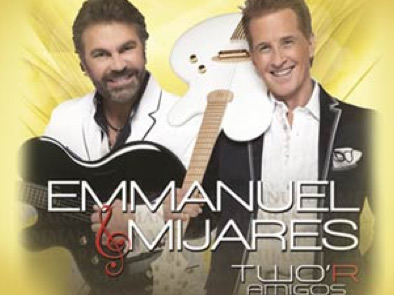 Emmanuel y Mijares en Arena Teques 17 de mayo