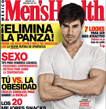 Enrique Iglesias en revista Men´s Health