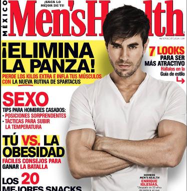 Enrique Iglesias en Mens Health