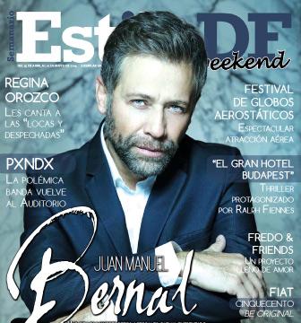 Juan Manuel Bernal en Revista Estilo DF