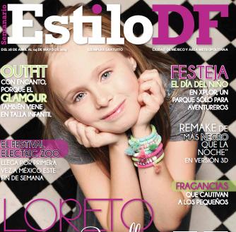 Loreto Peralta en Revista Estilo DF
