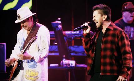 Juanes y Santana