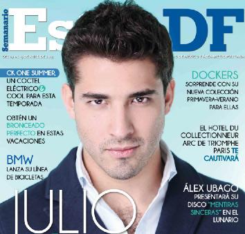 Julio de Reik en Revista Estilo DF