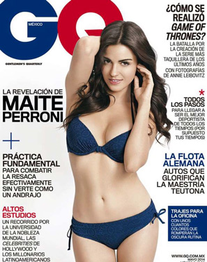 Maite Perroni en Revista GQ