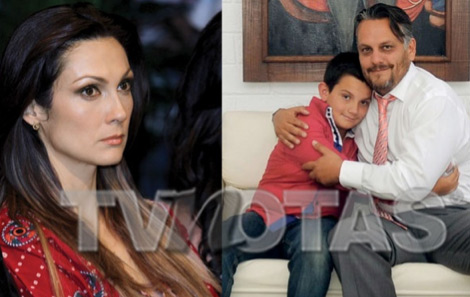 Nora Salinas, su hijo y su ex
