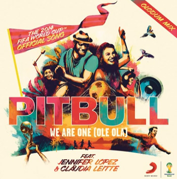 Portada de We are one de Pitbull
