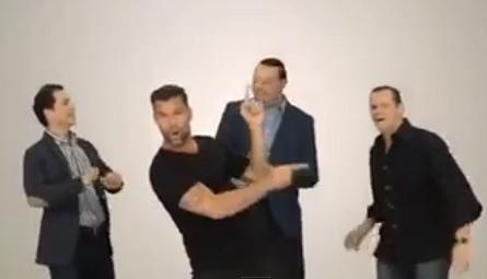 Ricky Martin en comercial de Televisa Deportes