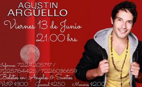 Agustin Arguello en Toluca