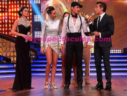 Odalys Ramírez expulsada de Bailando por un sueño
