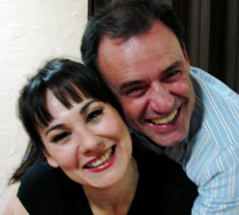 Luis Ernesto Cano y Mónica Garza