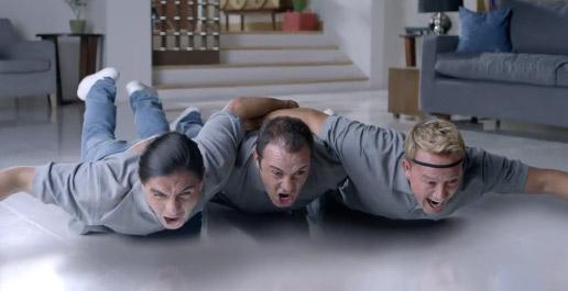 Cuauhtémoc Blanco, Palencia y El Matador en comercial de Pepsi