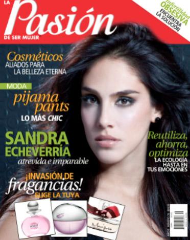 Revista Pasión Sandra Echeverría