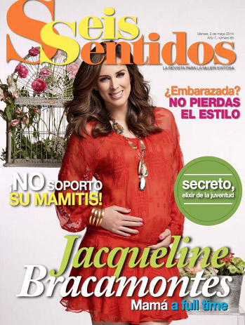 Jacqueline Bracamontes en Revista Seis Sentidos
