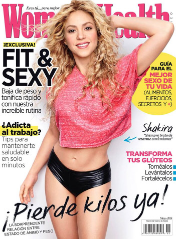 Shakira en revista Women´s Health