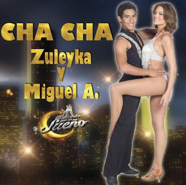 Zuleyka y Miguel