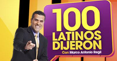 Estreno de 100 latinos dijeron 14 de julio por el canal de las estrellas