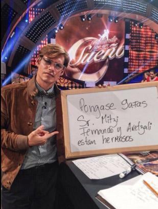 Carlos Baute se burla de Mitzy