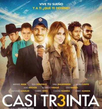 Eiza González próxima a estrenar la película Casi Treinta