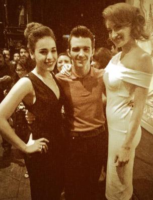 Sofía Castro y Danna Paola se presumen con Drake Bell